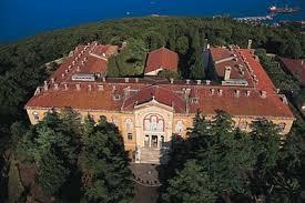 Halki Seminary, on Heybeli Island close to Istanbul