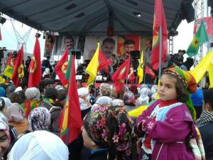 Celebration of 35 years PKK, 27 November 2013. (Pic: Fréderike Geerdink, click to enlarge.)