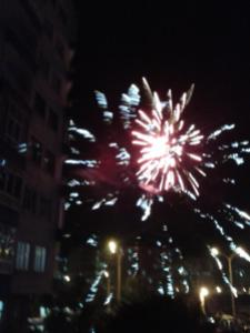 Fireworks! Election night, 30 March. Pic by me, click to enlarge.