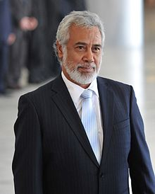 Xanana Gusmão, militant turned first president of East Timor.