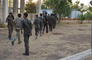 Rojava demobilizes child soldiers. Picture courtesy of Geneva Call.