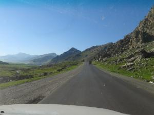 Road to Qandil (during an earlier visit, last March)
