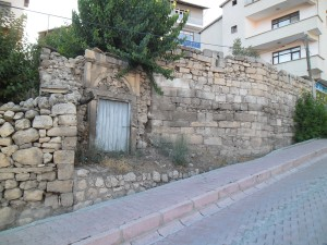Remains of the former Armenian church in Tchemesh-Gedzak