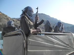 PKK fighters in Qandil, Newroz 2014.
