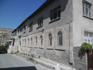 The prison in Tchemesh-Gedzak where many Armenian men were killed.
