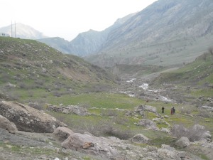 Geography of the Qandil mountains (pic by me, Newroz 2014)